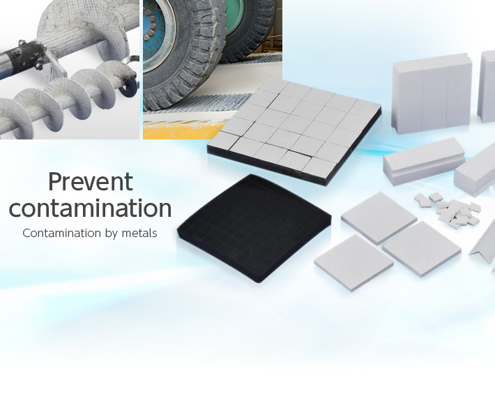 金Prevent contamination Contamination by metals