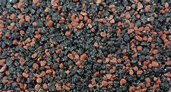 Permeable resin mortar method photo